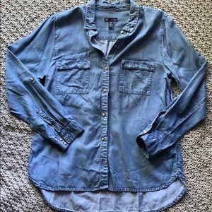 GAP | boyfriend fit jean shirt